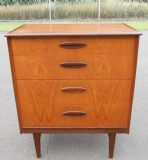 SOLD - Retro Teak Small Chest of Drawers